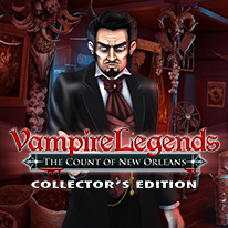 image for Vampire Legends: The Count of New Orleans Collector's Edition