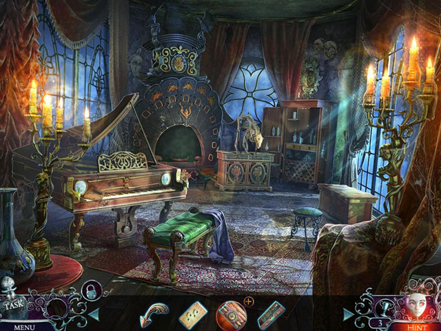 Phantasmat: Behind the Mask Collector's Edition large screenshot