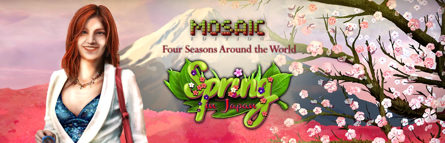 Spring in Japan - Mosaic Edition