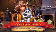 Alicia Quatermain and Mystery of the Flaming Gold