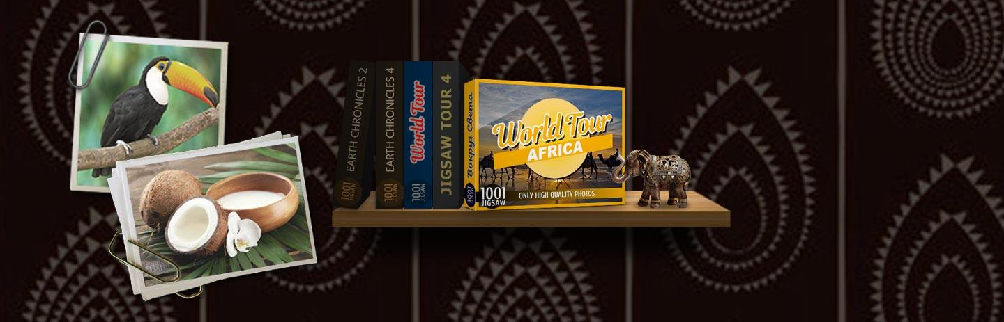 1001 Jigsaw World Tour - Africa