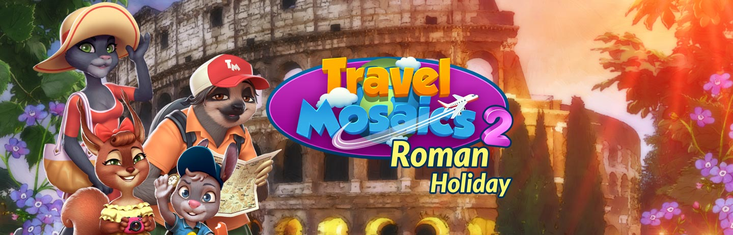 Travel Mosaics - Roman Holiday