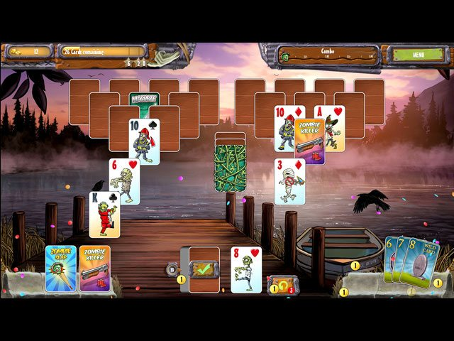 Zombie Solitaire 2 - Trilogy large screenshot
