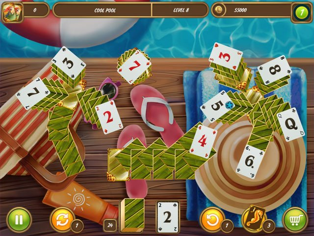 Solitaire: Beach Season - Sounds of Waves large screenshot