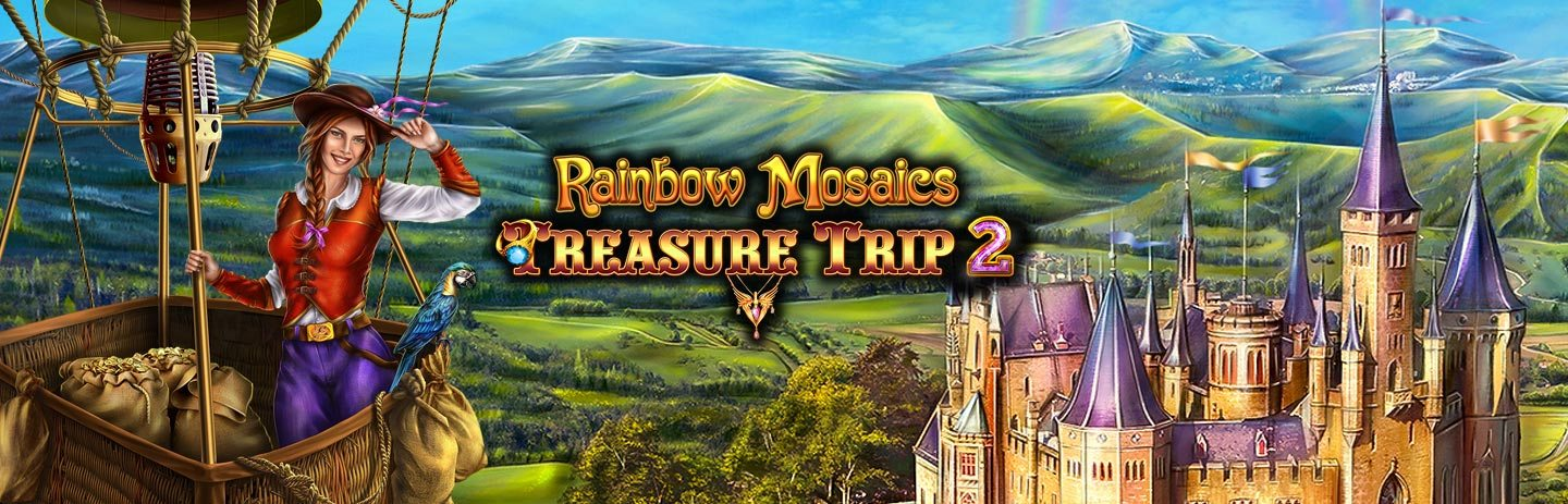 Rainbow Mosaics - Treasure Trip 2