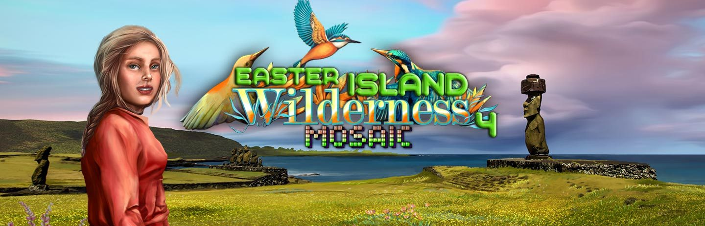 Wilderness Mosaic 4 - Easter Island