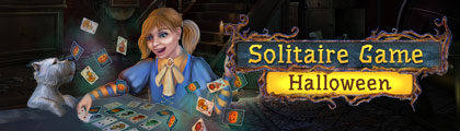 Solitaire Game Halloween screenshot