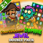 Caribbean Zombie Jewel Double Pack