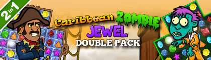 Caribbean Zombie Jewel Double Pack screenshot
