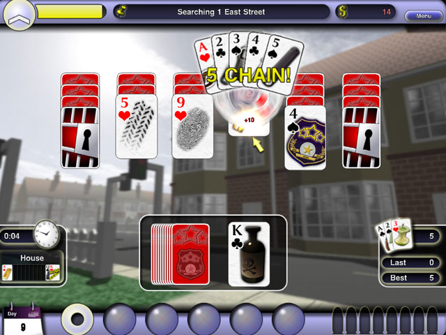 Crime Solitaire large screenshot