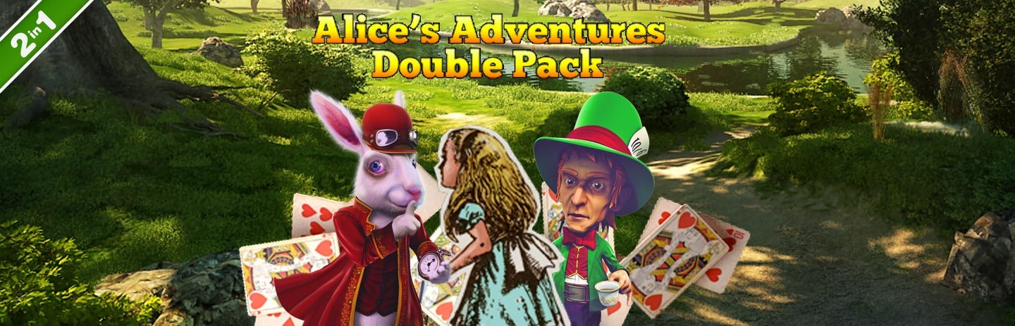 Alice's Adventures Double Pack