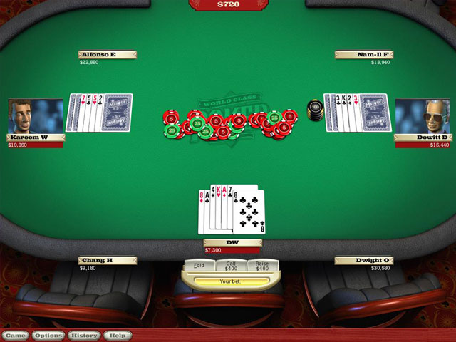 World Class Poker large screenshot