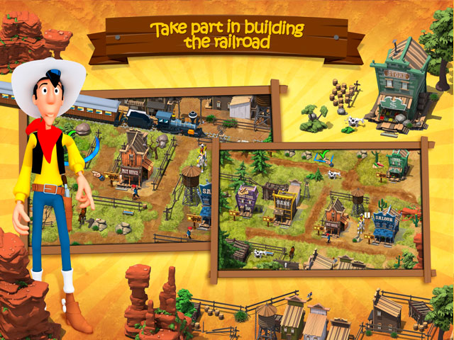 Lucky Luke: Transcontinental Railroad Builders large screenshot
