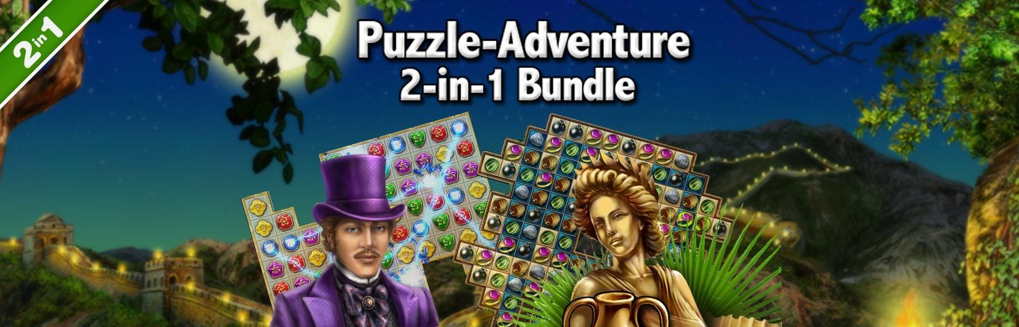 Puzzle-Adventure 2-in-1 Bundle