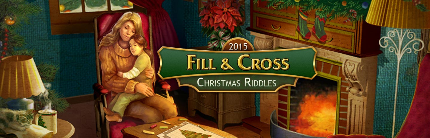 Fill & Cross Christmas Riddles