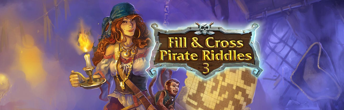 Fill & Cross Pirates Riddles 3