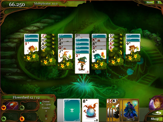 Magic Cards Solitaire large screenshot