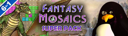 Fantasy Mosaics Super Pack screenshot