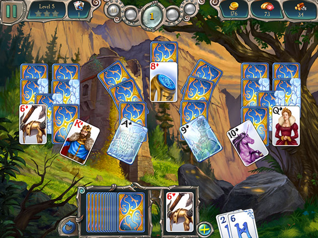 Avalon Legends Solitaire 2 large screenshot