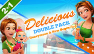 Download Delicious Double Pack - Honeymoon & New Beginning Game