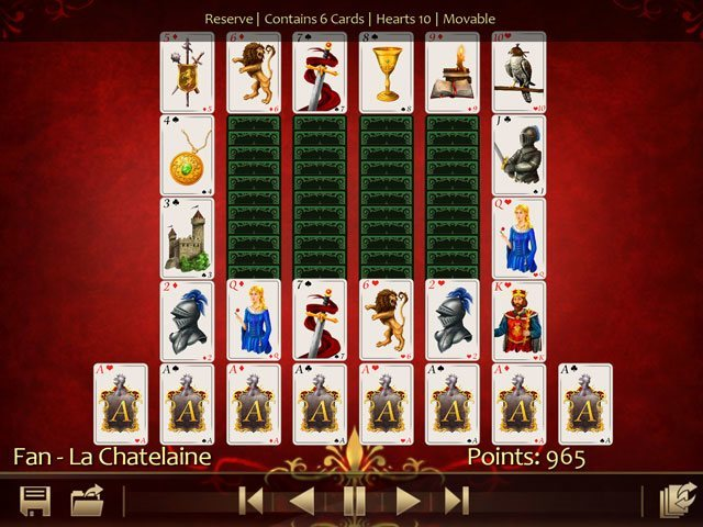 Solitaire 220 Plus large screenshot