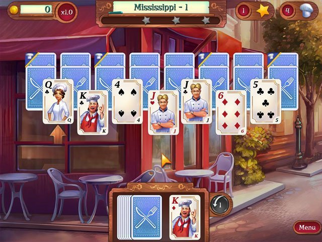 Chef Solitaire: USA large screenshot