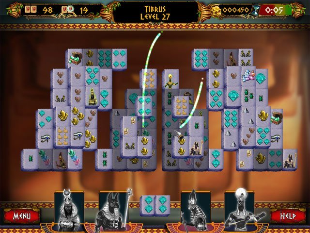 Mahjong: Ancient Pyramids large screenshot