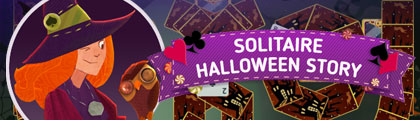 Solitaire - Halloween Story screenshot