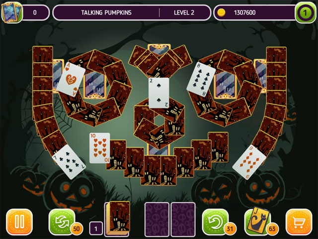 Solitaire - Halloween Story large screenshot