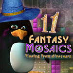 Fantasy Mosaics 11: Fleeing from Dinosaurs