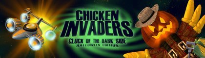 Chicken Invaders - Cluck of the Dark Side Halloween Edition screenshot