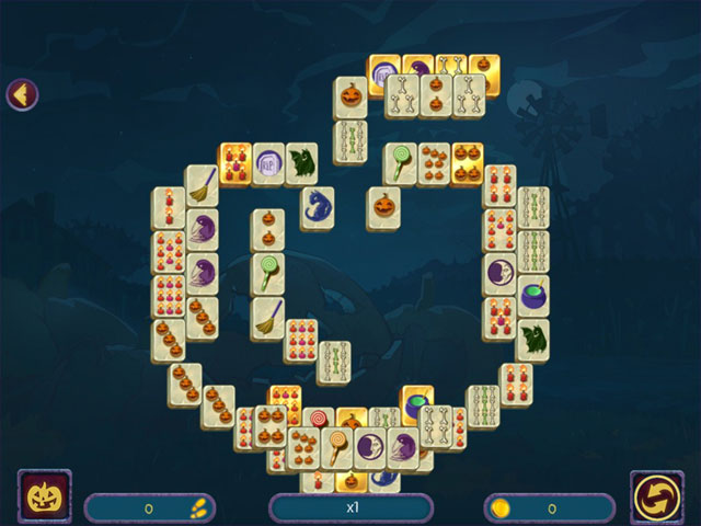 Halloween Night Mahjong large screenshot