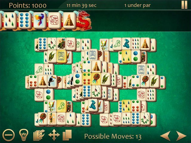 Art Mahjong 3 large screenshot