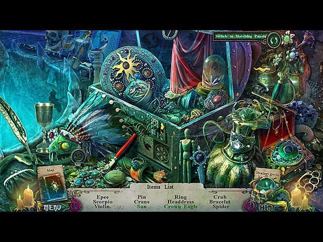 Witches' Legacy: Hunter and the Hunted Collector's Edition large screenshot
