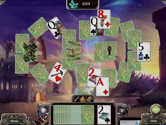 The Far Kingdoms: Sacred Grove Solitaire large screenshot