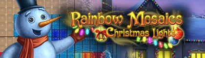 Rainbow Mosaics: Christmas Lights screenshot