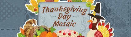 Thanksgiving Day Mosaic screenshot