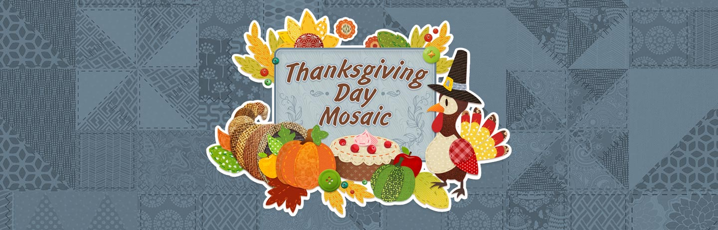 Thanksgiving Day Mosaic