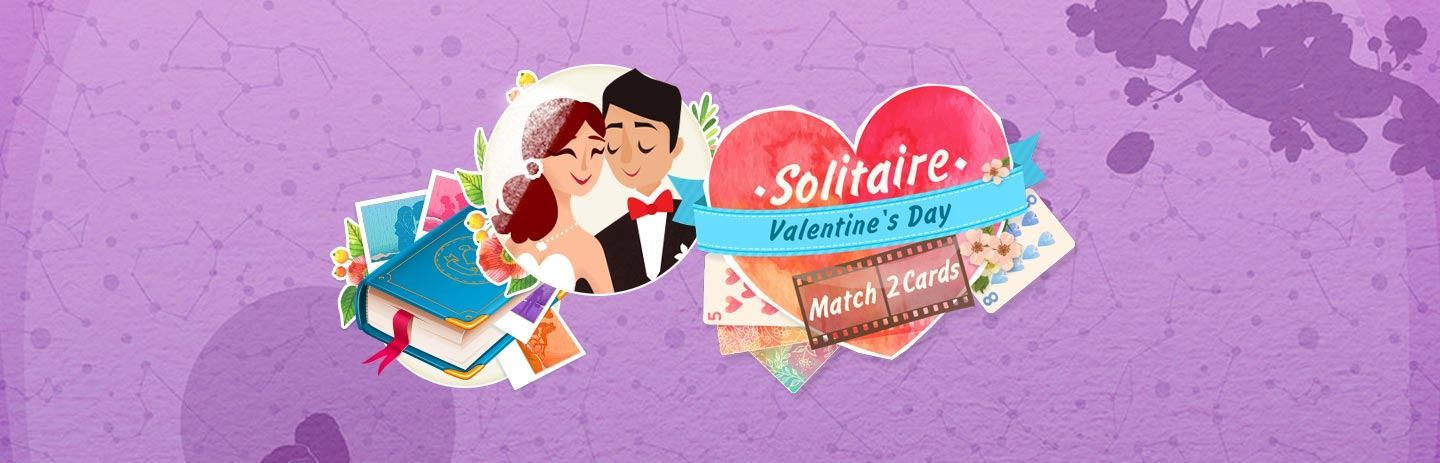 Solitaire: Valentine's Day - Match 2 Cards