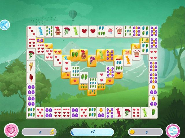 Mahjong Valentine's Day large screenshot