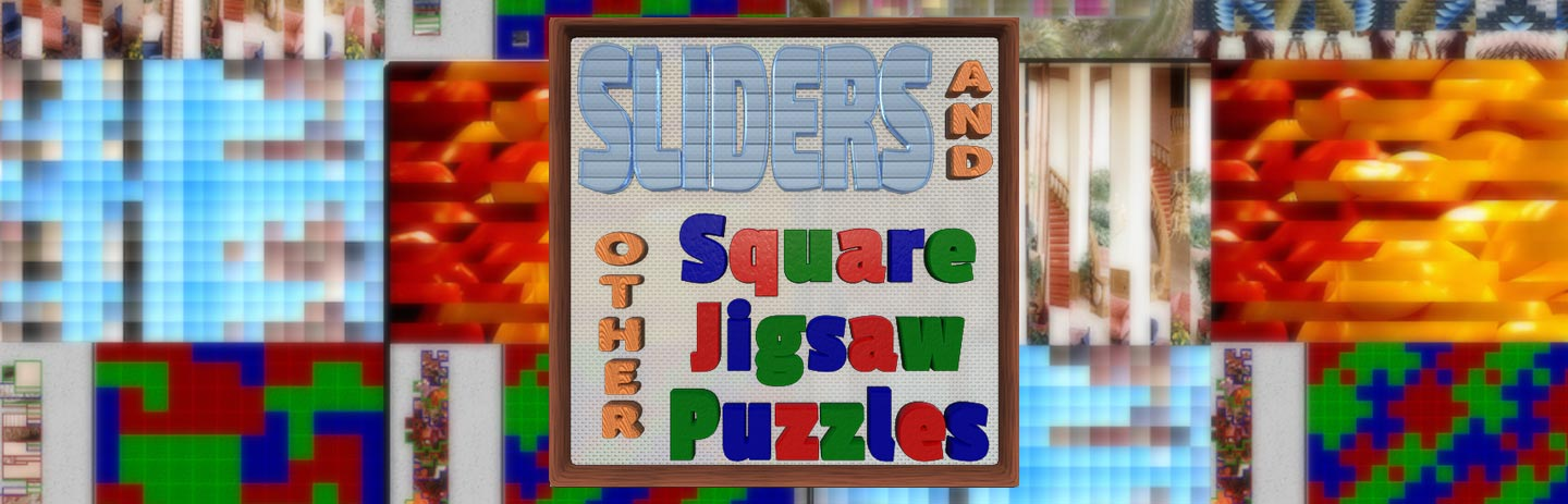 Sliders & Other Square Jigsaw Puzzles