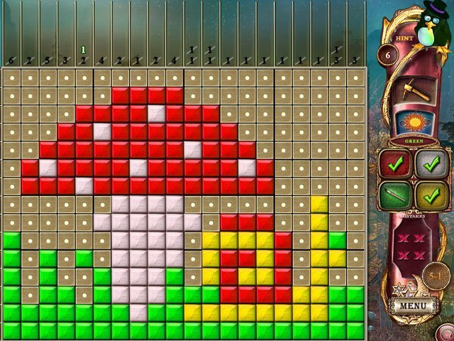 Fantasy Mosaics 14: The Fourth Color large screenshot