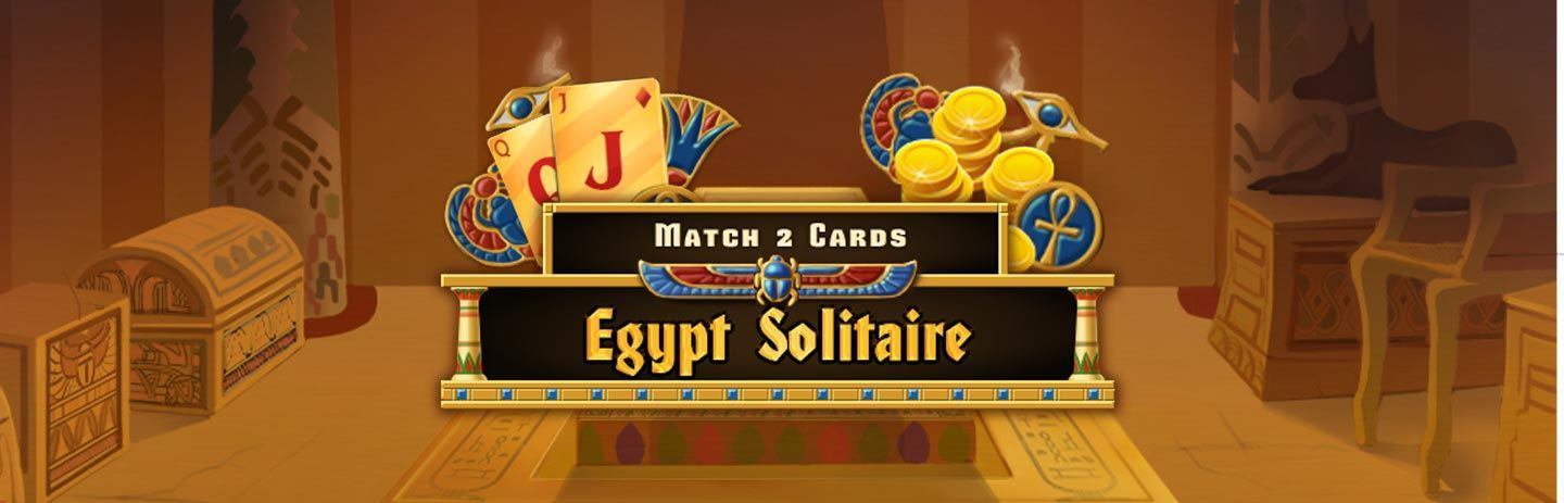 Egypt Solitaire - Match 2 Cards