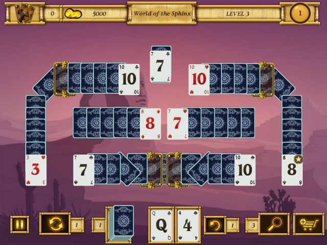 Egypt Solitaire - Match 2 Cards large screenshot