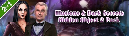 Illusions & Dark Secrets Hidden Object 2 Pack screenshot
