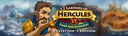12 Labours of Hercules 6 - Race for Olympus Collector's Edition screenshot