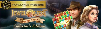 Jewel Quest Seven Seas Collector's Edition screenshot