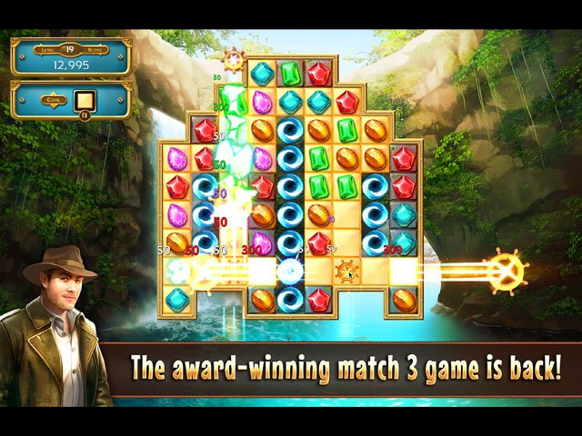 Jewel Quest Seven Seas Collector's Edition large screenshot