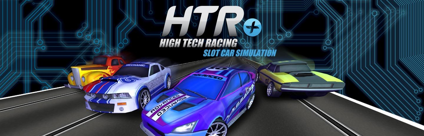 High Tech Racing Slot Car Simulation
