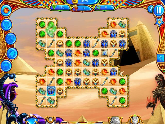 Legend of Egypt: Jewels of the Gods Collector's Edition large screenshot